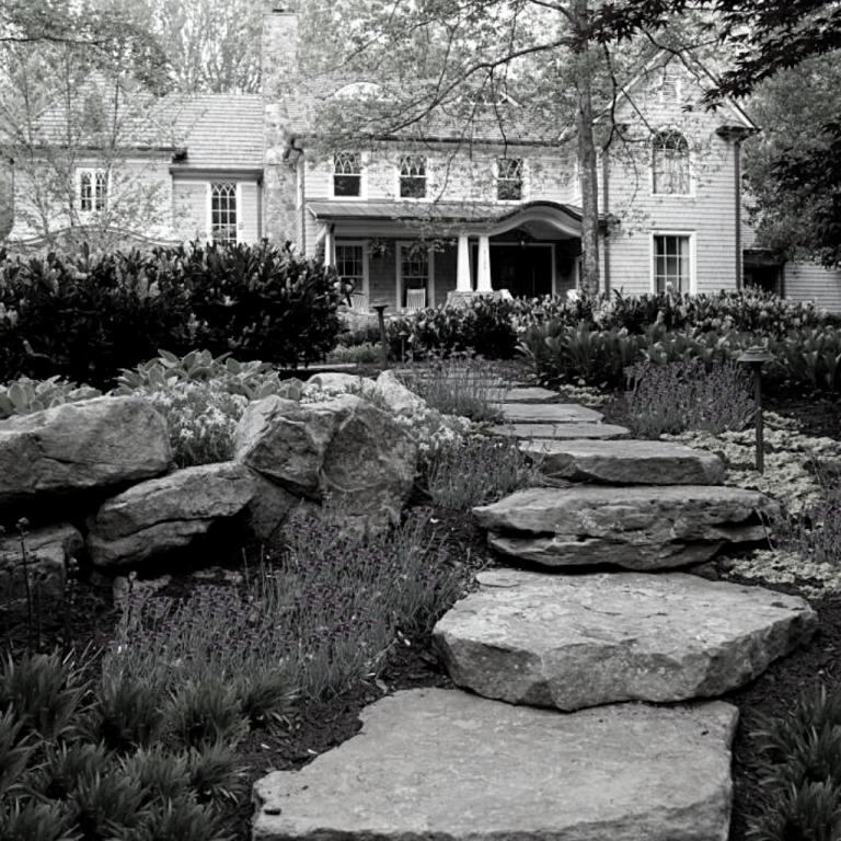 Gresham rock pathway