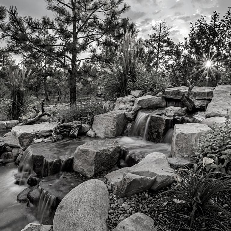 Gresham Landscape pros Water fall