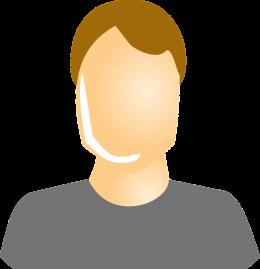 Male testimonial icon